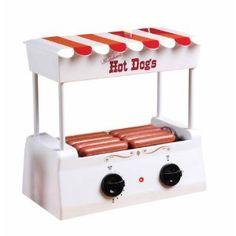 vintage hot dog roller