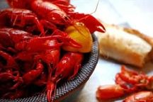 Crawdads at Frilly's South Cajun Kitchen