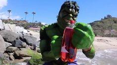 Red Hulk vs Green Hulk – Real Life Superhero Movie! Tropical Island