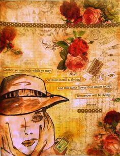 Bastelmania: Gather ye rosebuds....
