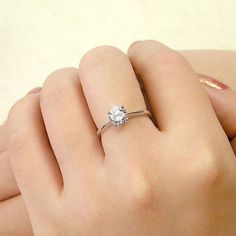 2016 New Arrival Fashion silver plated Elegant Bride Wedding simulated diamond Opening Ring Fine Jewelry Drop Shipping