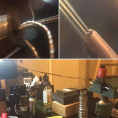 #coilporn #vape #vapelife #vapefam #subohm So here it goes. BTW a shout out to @grimmgreen it's always cool when the designer of the mod addy tank whatever likes your post. I have a ton of respect for guys like grimm and @squidoode who still pay attention to guys like me who learned from them. If you have not seen how a keep a ribbon stack stacked. I have prior posts that explain in detail but in summary I run the stack through a shark copper tube. #vapefam #vapecommunity #subohm…