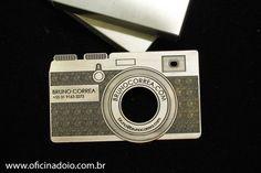Cartão de Visitas Criativo - Feito de Metal :)  Contato: oficinadoio@gmail.com |www.oficinadoio.com.br