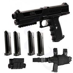 Tippmann TiPX Deluxe Paintball Pistol Kit Gun « Gun Accessories Shops