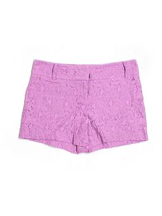 lilac lacy shorts