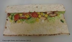 Warburtons Square Wraps - Salad Wrap