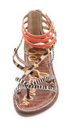 Sam Edelman.  Cute sandals