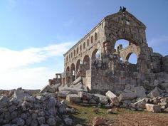 The 'Dead Cities' of the Hauran Plateau in Syria testify to centuries of Christian presence in the ancient Near East.