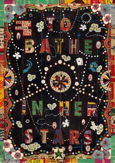 """Tony Fitzpatrick's """"To Bathe Her in the Stars""""; love his work so much....."""