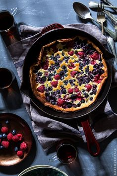 Mixed Berry Dutch Baby | Bakers Royale