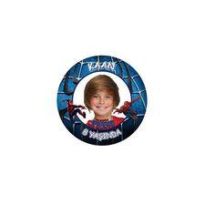 Spiderman Kişiye Özel Sticker 48-li