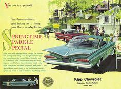 1959 and 1958 Chevrolet Impala Hardtops