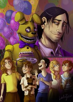 Five missing children fnaf