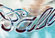 BALL JAR 5 x 7 inch print signed by artist  buy 2 by Redstreake, $15.00