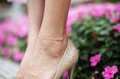 Love Anklet by Jennifer Zeuner