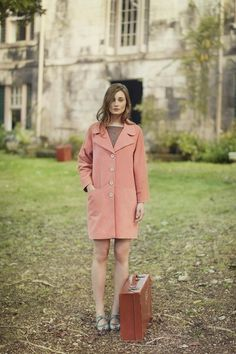 Toast SS13 Women Spring Lookbook - Adore the colour and the shape of this coat