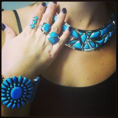 There is no such thing as too much turquoise...right?