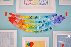 deco punch and paint swatches... love bunting loves bunting
