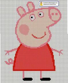 ENCANTOS EM PONTO CRUZ: Peppa Pig