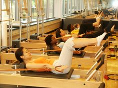 Pottruck Studio 311 houses state-of-the-art Pilates equipment to aid you in your fitness goals.