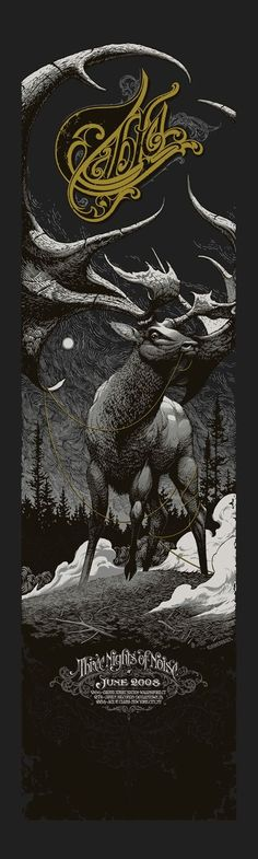 Q: What Do Mogwai, Bon Iver, Converge & True Grit Have In Common? A: Artist Aaron Horkey- An Interview | The Indie Spiritualist