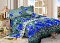 SpreiMaster: Sprei & Bed Cover Kintakun Luxury Blue Rose