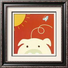 Peek-a-Boo IV Pig Yuko Lau