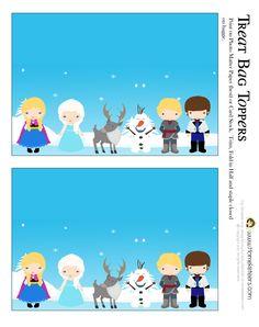 Disney's Frozen Party Printables ~ FREE
