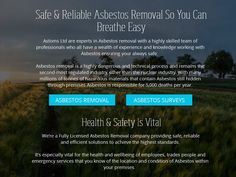 Asbestos removal and waste removal specailists  http://www.astoms.co.uk…