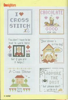 Gallery.ru / Фото #21 - Cross Stitch Crazy 008 июнь 2000 - tymannost