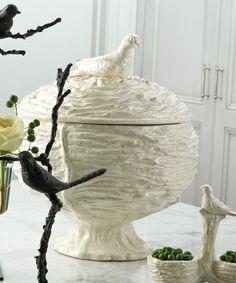 Nest Tureen - White