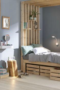 Pour créer une ambiance tamisée, on opte pour ce rondin qui produit une lumière douce et originale. Dans la chambre ou dans le salon, ce tabouret de bois ajoute un style naturel & tendance à la déco. Suivez les étapes de réalisation !