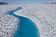 Blue river, Greenland
