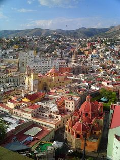 Guanajuato, Mexico. I studied spanish here for 8 weeks, it is my Mexican home away from home.