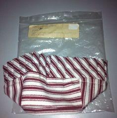 Ebay $9.00 Longaberger-1993-Sweetheart-Liner-Red-Ticking-Brand-New-in-Original-Package