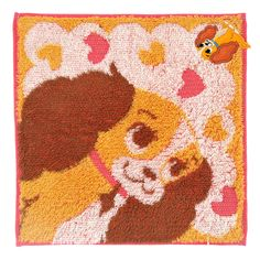 [Official] Disney Store | mini towel applique Lady: | Disney Goods Gift of…