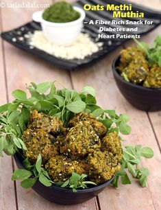 Oats Methi Muthia recipe - Siding Colors & Consumer Loan & Home Loan & Debt Free & Credit Score & Chase Credit Card - VIP Financial Education Oats Recipes, Veg Recipes, Indian Food Recipes, Vegetarian Recipes, Cooking Recipes, Healthy Recipes, Indian Snacks, Appetiser Recipes, Gourmet