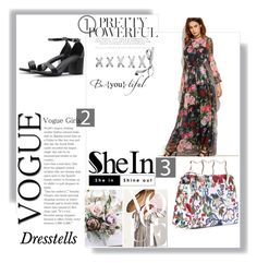 """""""shein # 6"""" by begicdamir ❤ liked on Polyvore featuring sheinevents and sheintropicfan"""