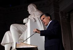 """John Cassidy on """"Romney Hood"""": Will the campaign pay another political price for its pandering and opaqueness? http://nyr.kr/QdIHTK (Photograph by Jae C. Hong/AP/Corbis.)"""