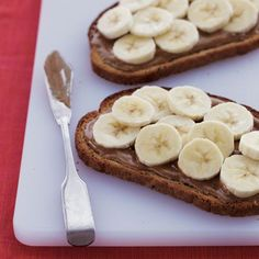 Easiest, yummiest fat-burning breakfast: Banana and Almond Butter Toast. | Health.com