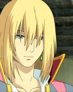 Howl! Yay real movie pic not just fan art.... Buuuuut I like the black hair better ^_^