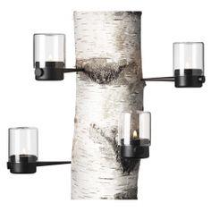 Pipe Hurricane Tea Light 4pc Set - Menu A/S