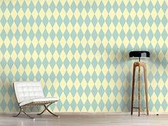 Design #Tapete Pastell Harlequin
