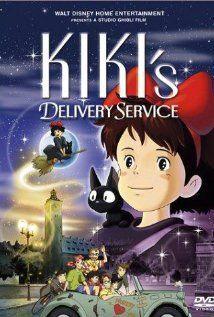 """Assisti """"Majo no takkyûbin (O Serviço de Entregas da Kiki)(1989). Gostei. Filme do mestre Hayao Miyazaki com uma temática um pouco mais infantil sobre uma bruxinha que, ao completar 13 anos, precisa deixar a sua casa e encontrar uma cidade para terminar seu treinamento. Como sempre, os personagens femininos dos filmes de Miyazaki são muito interessantes. Neste filme também é possível perceber uma outra paixão do diretor: as máquinas voadoras. Recomendado."""