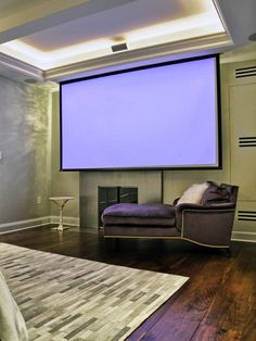 Bedroom Projection Screen