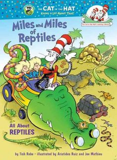 """""""Miles & Miles of Reptiles"""" by Tish Rabe"""