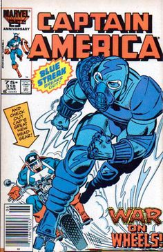 Cover for Captain America (Marvel 1968 serie) #318 [Direct Edition] June 1986