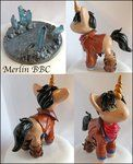Merlin Pony (For Sale $70) by balletvamp