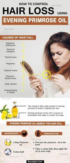 How To Control Hair Loss Using Evening Primrose Oil #sensitiveskincare #beauty #beautifulhair #aqiskincare #skincare #WhyHairLoss #OrganicHairShampooHairLoss #OilForHairLoss