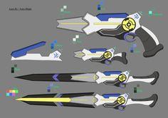 Erio Weapon Design by shelbybl.deviantart.com on @DeviantArt